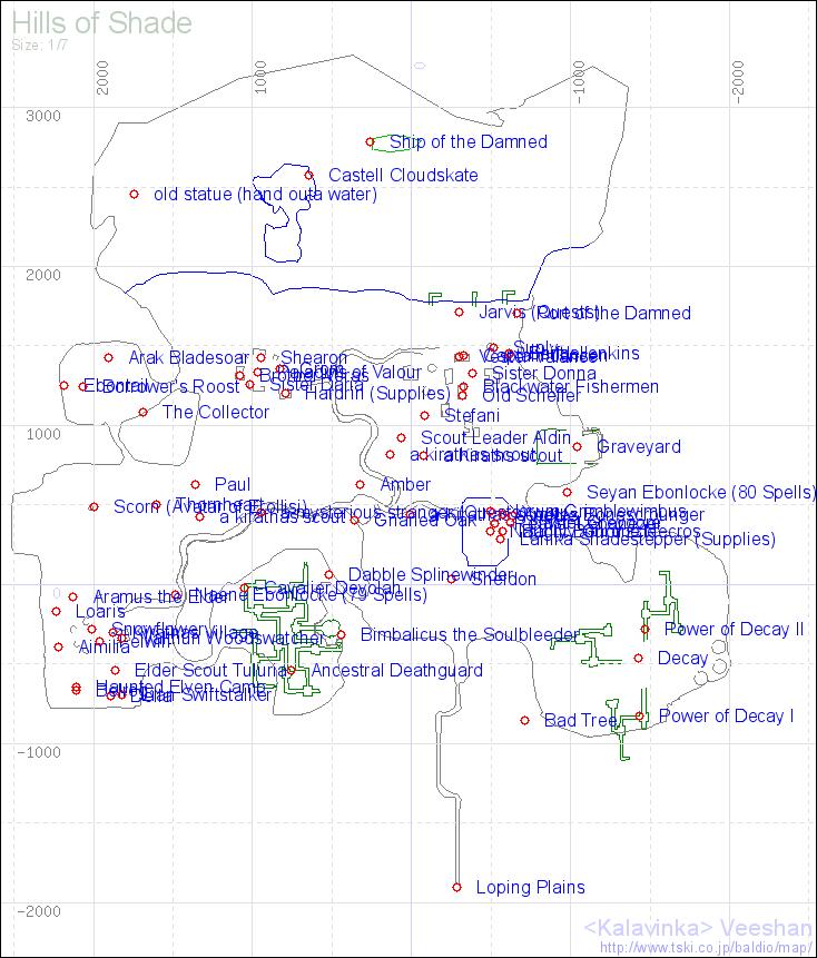 EverQuest Map Rendering